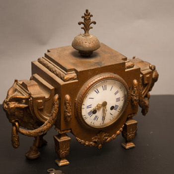 FRENCH ORMOLU CLOCK - Clocks