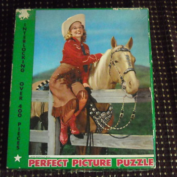 miss buffalo bill puzzle - Games