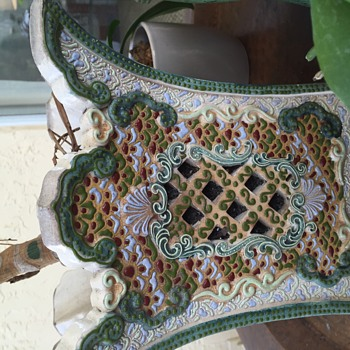 My Favorite Chinese Planter with Reticulated panels