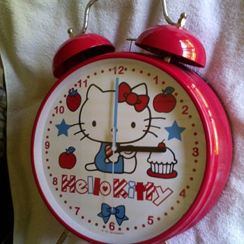 hello kitty alarm clock((oversized) - Clocks