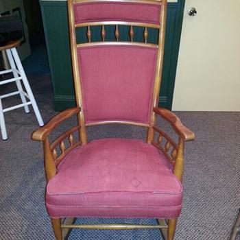 My husband's grandmother's rocking chair!