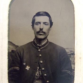 Corporal Lewis Banyea, 5th VT Infantry