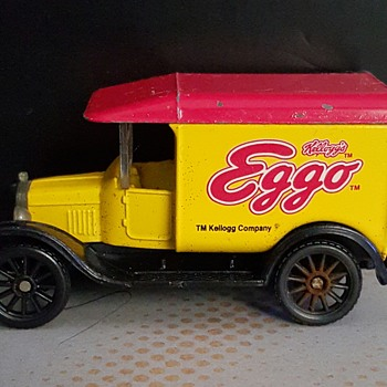 1921 Model T Ford (Matchbox)