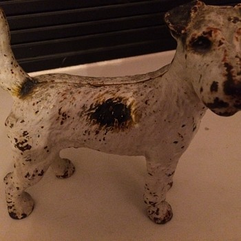 Really cute terrier statue - Animals