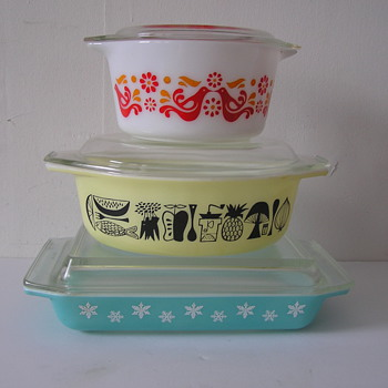 Small Sample of My Pyrex Collection