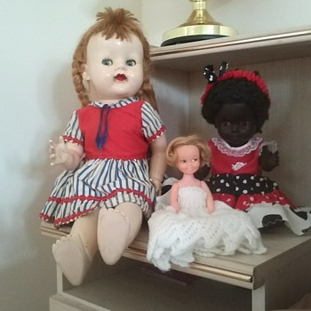 My three dolls