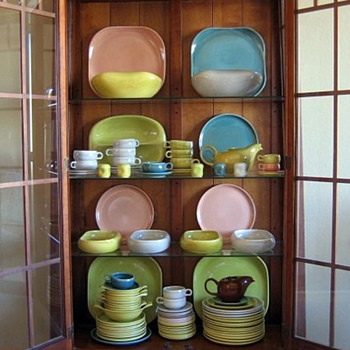 vintage Russel Wright Steubenville dishware - Kitchen
