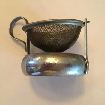 Tea Strainer  and Pastry Dough cutter - Kitchen