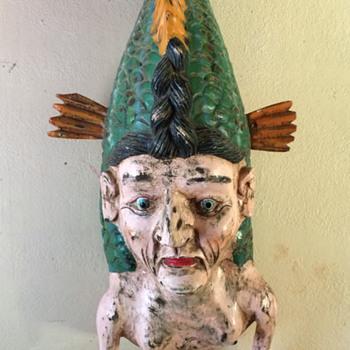 Mer Maid or Man - Folk Art