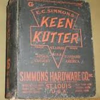 1907 E.C. Simmons Keen Kutter Catalog - Books