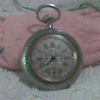 My Belgian Grandmother's Father's pocket watch  - Pocket Watches