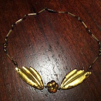 Mirror Glass Necklace.... - Costume Jewelry