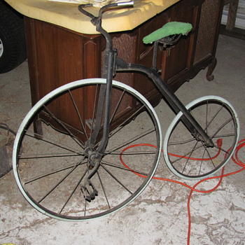 my 1800&#039;s Penny Farthing childs bicycle - Outdoor Sports
