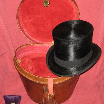 Tress & Co. London Top Hat and Case Part Two - Hats