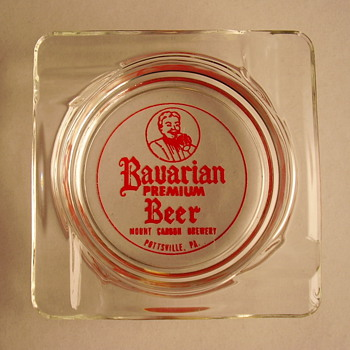 Interesting beer ashtrays.....