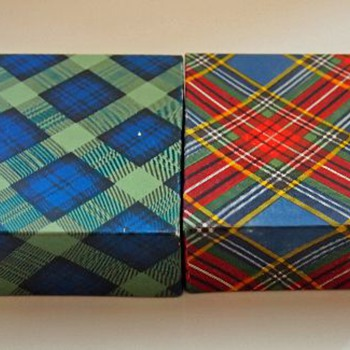 In their, original, little boxes... ---Monart - Art Glass
