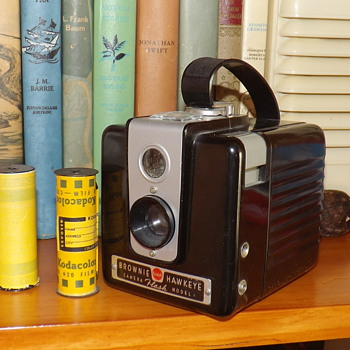GRANDMOTHER'S OLD BROWNIE - Cameras