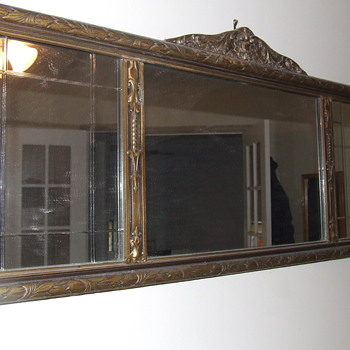 Mirror Antique over 100 years old - Furniture