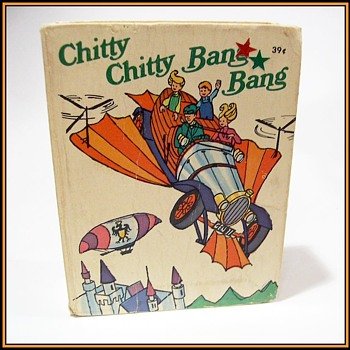 "1968 - LITTLE BIG BOOK  - "" CHITTY CHITTY BANG BANG """