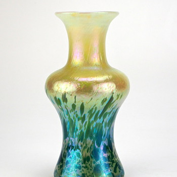 Fritz Heckert, design by Otto Thamm, production number  232, 1903 - Art Glass