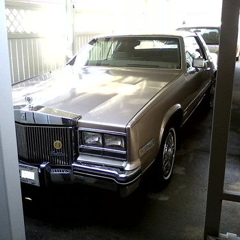 "1985 Cadillac ""Eldorado""  Touring Coupe / E & G Rolls Royce Grill and Continental Kit"
