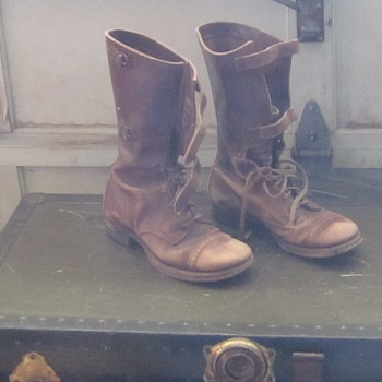 World War II Combat Boots - Military and Wartime