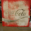 Circa 1980s Coke Sign
