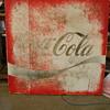 Circa 1980s Coke Sign