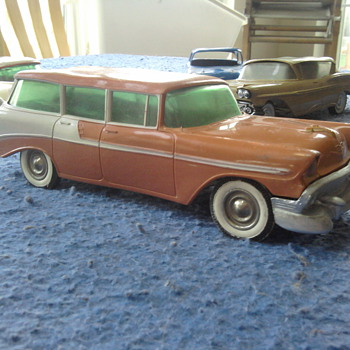 1956 Chevrolet Nomad - Model Cars