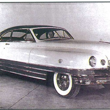 1948 Packard Monte Carlo Edition photo's