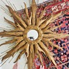 5 Foot Wide Mid Century Sunburst Mirror - Friedle?