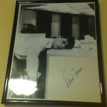Signed Robert Morse Still - Movies