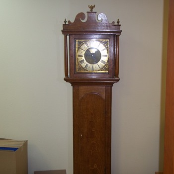 pre 1800&#039;s w.m.hawes longcase - Clocks
