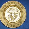 USS Saipan-LHA-2 Brass Ashtray/Dish