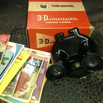 Sawyers view finders including model b rare uk. and several reels