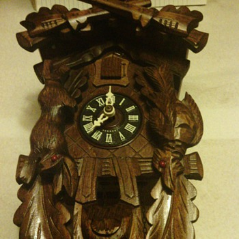 Antique German Black Forest Cuckoo Clock - Clocks