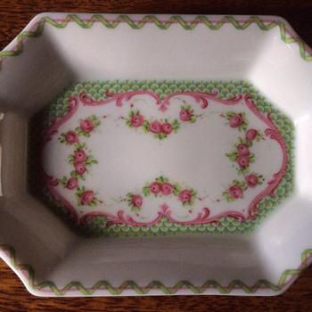 Antique French dish