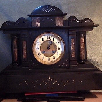 Our Antique Mantel Clock