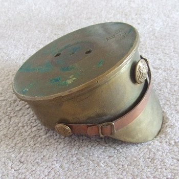 Trench Art WW1 British Hat c. 1916 - Military and Wartime