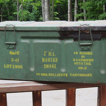 Ammunition Chests - Military and Wartime