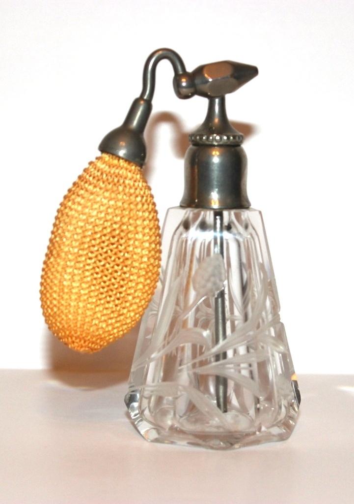 Devilbiss Perfumizer Cat 1227 Fostoria Glass Dandelion