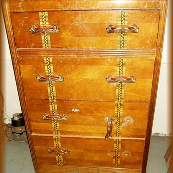An OLD Dresser - Great Handles on it  - Furniture