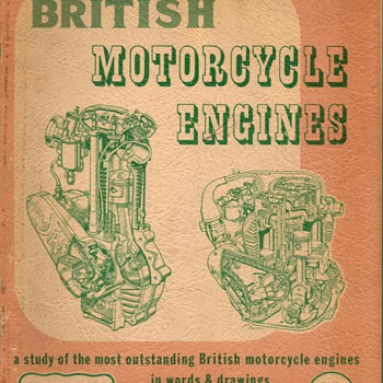 "1951 - ""British Motorcycle Engines"" - Book - Books"