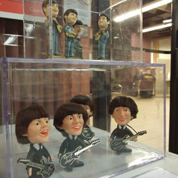 Beatles dolls and cake nodders-1964...