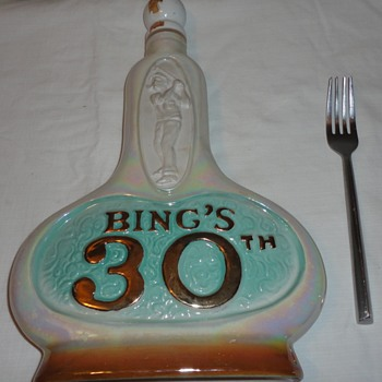 Bing's  Crosby 30th Anniversary Decanter