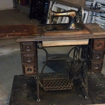 Singer Sewing Desk