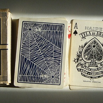 """Tela de Araña"" (spider's web) playing cards - made in Argentina - Cards"