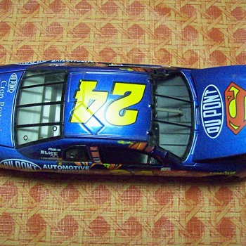 Meet the Superman Car - Jeff Gordon - Model Cars