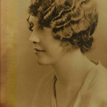 old photo of a woman - Photographs