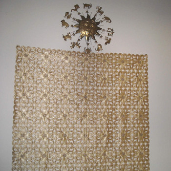My gold backdrop - Rugs and Textiles